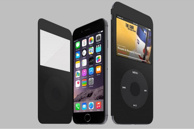the perfect iphone cover for ipod classic fans