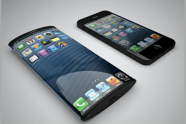apple patent for curved screen tech iphone curve