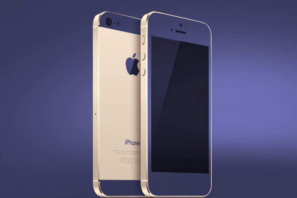 iPhone gold main