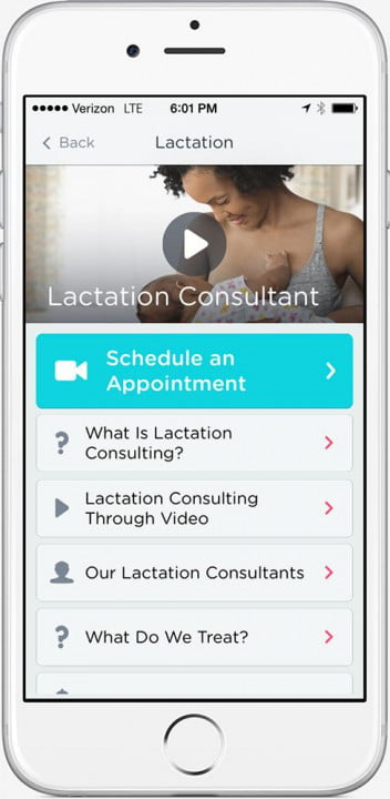doctor on demand brings doctors and psychologists to your phone iphone lactation consulting