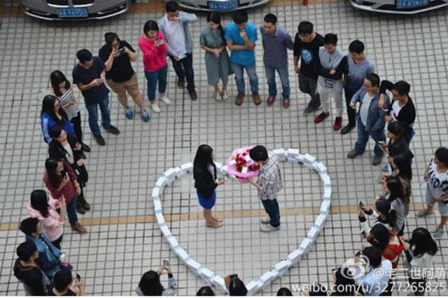 expensive iphone marriage proposal fails heart