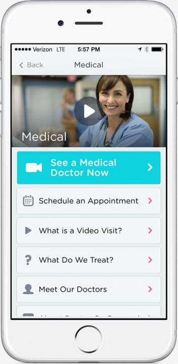 doctor on demand brings doctors and psychologists to your phone iphone medical