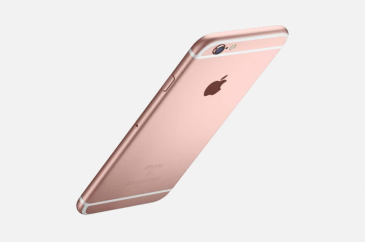 iphone se rose gold blah