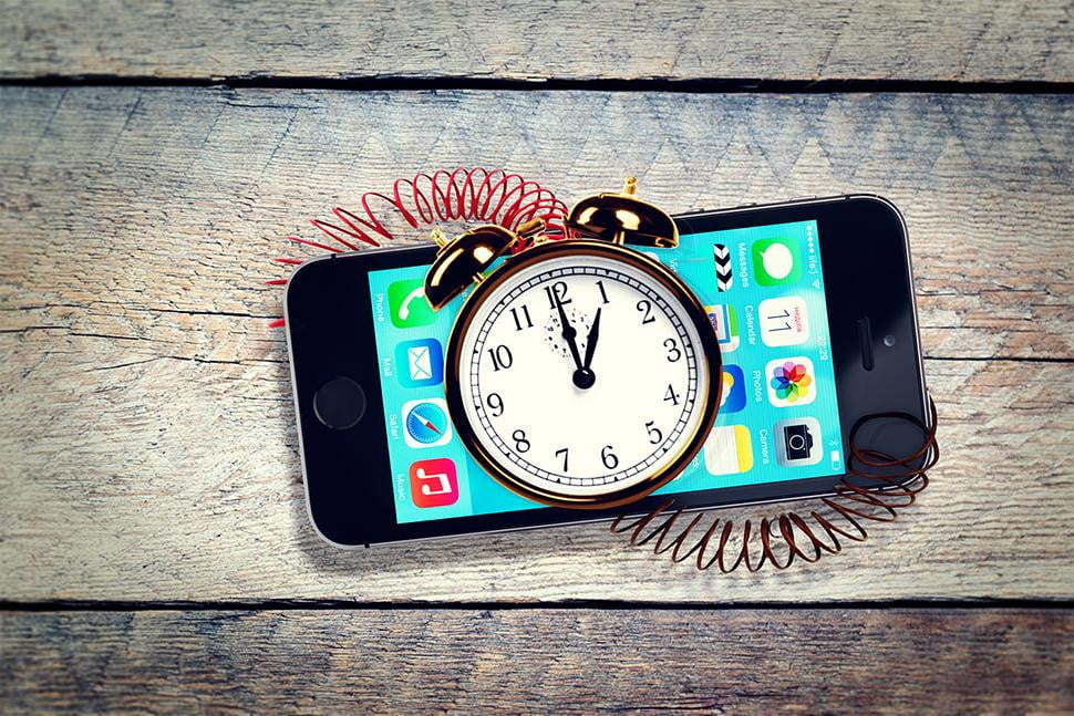 does apple deliberately slow old iphones no but age iphone time bomb