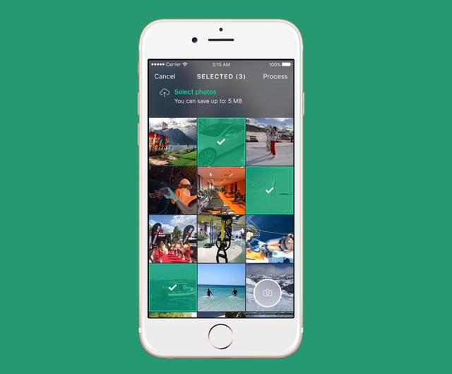 photo space app frees up phone iphone  sports copy