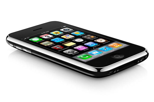 Apple iPhone 3GS 16GB, 0 with contract from AT&T