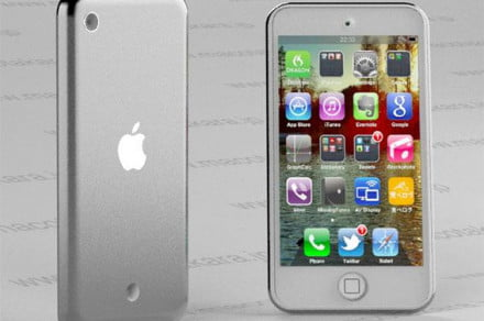 ipod touch 2012 rendering