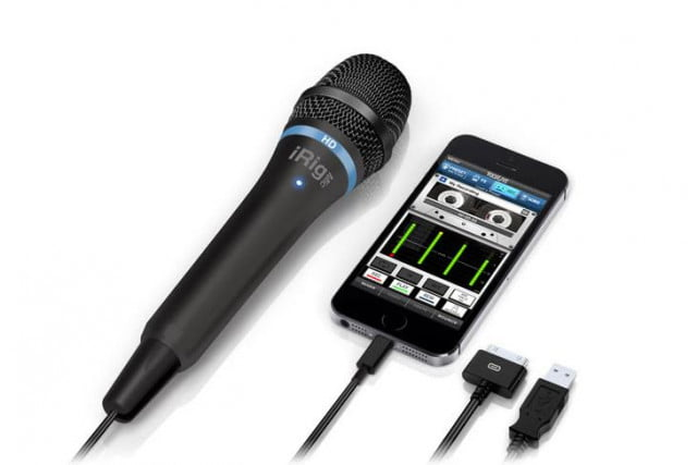 ik multimedia brings hi res recording iphone new irig mic hd