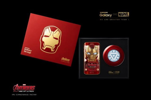 coming soon iron man editions of the samsung galaxy s  and edge