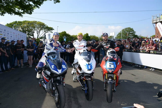 victory racing takes second tt zero isle of man