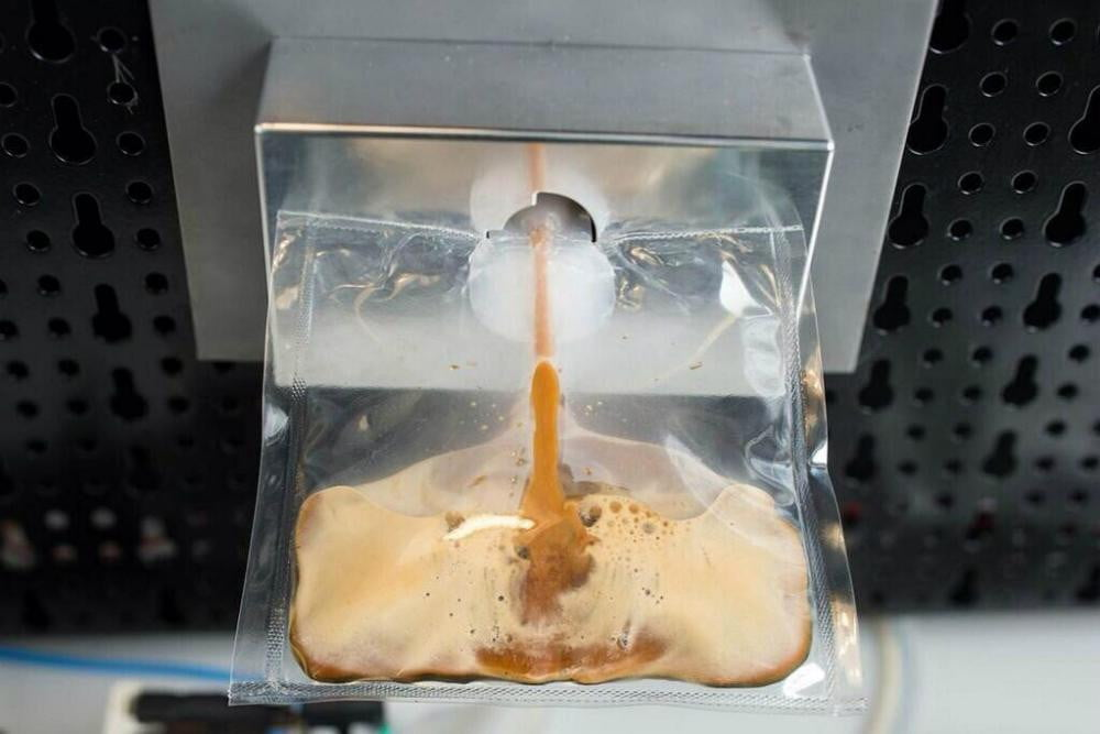 coffee on its way to iss isspresso