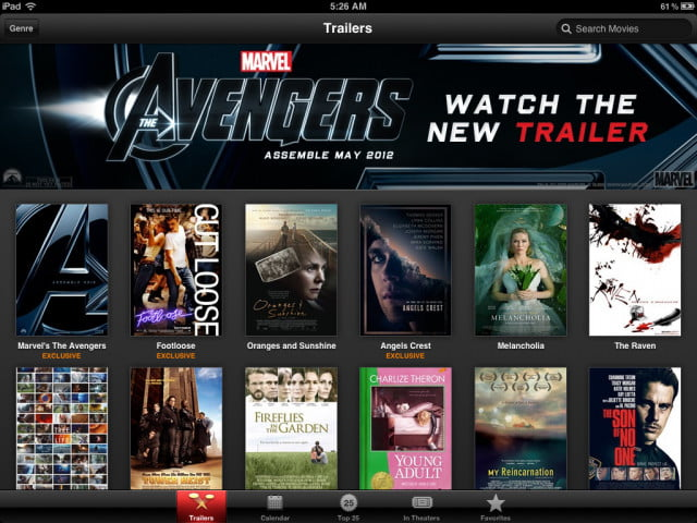 how to watch itunes movies on ipad