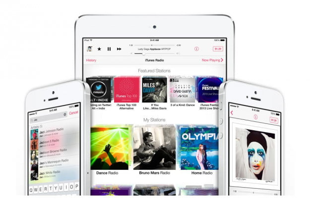 itunes radio digital music