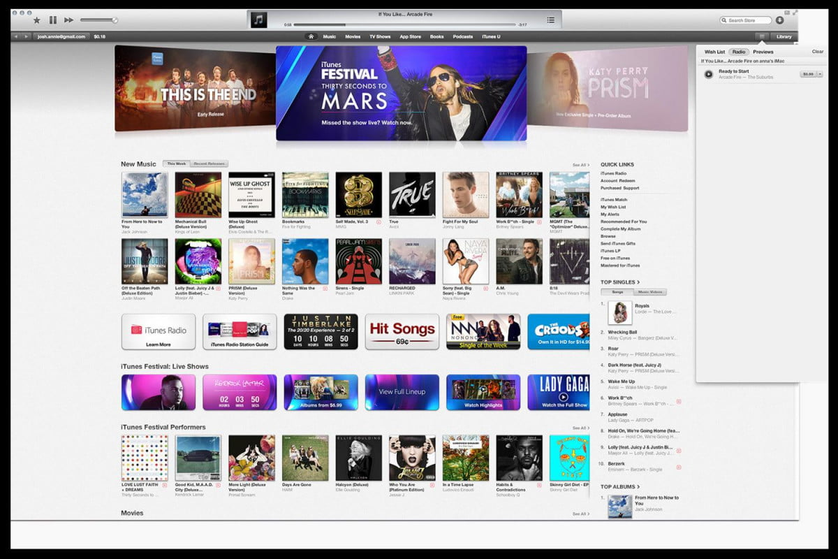 digital music sales declined first time since itunes store opened radio hands on purchase