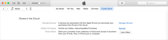 iTunes12-account-unhide-hidden-purchases