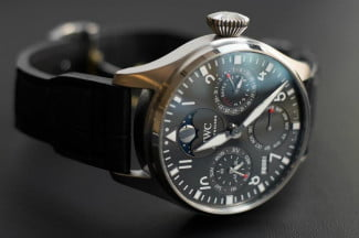 An IWC Big Pilot watch, without the IWC Connect