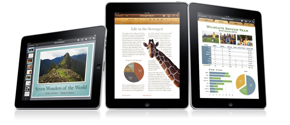 Apple iPad iBook