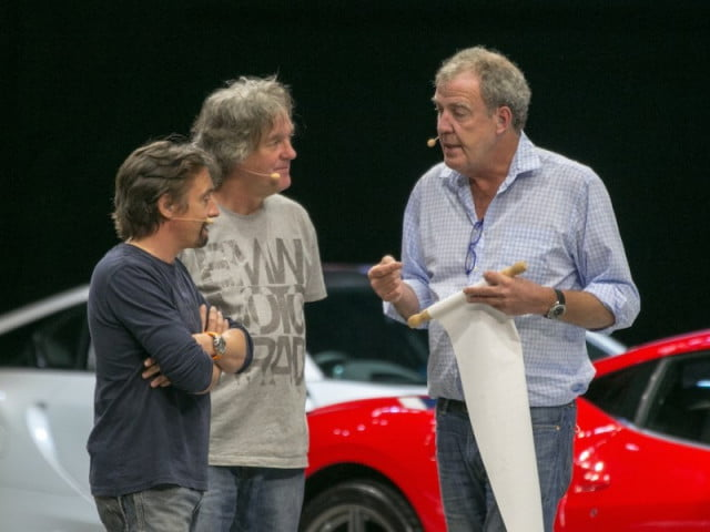 amazons top gear show could be called knobs richard hammond  james may jeremy clarkson