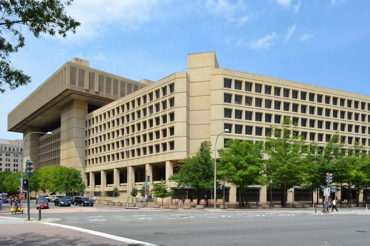 hacker compromises data of nearly  fbi and dhs employees with a simple phone call j edgar hoover building headquarters
