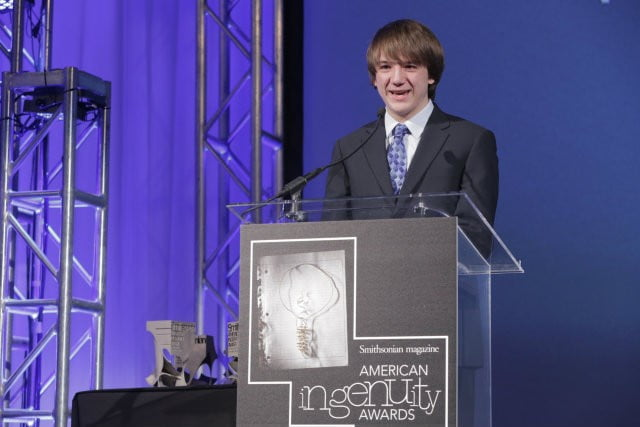 Jack Andraka invents pancreatic cancer detection sensor