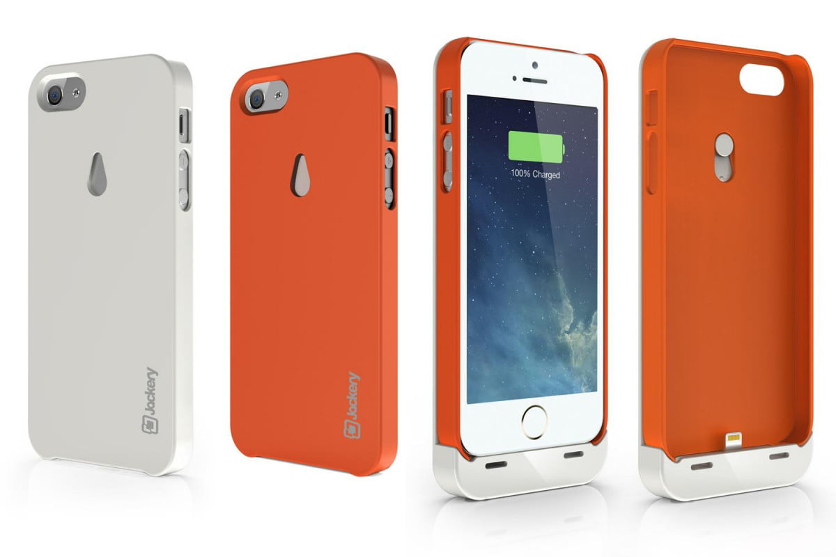 jackery leaf case can double iphone  s battery life