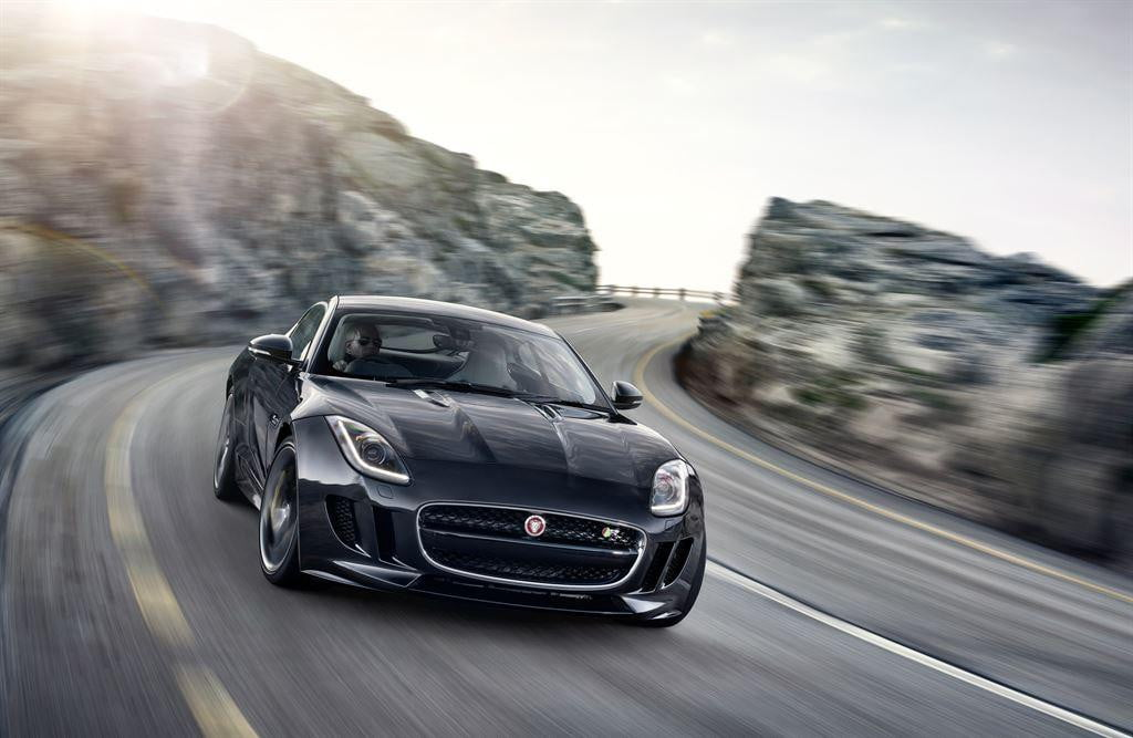 jaguar land rover special operations  f type coupe