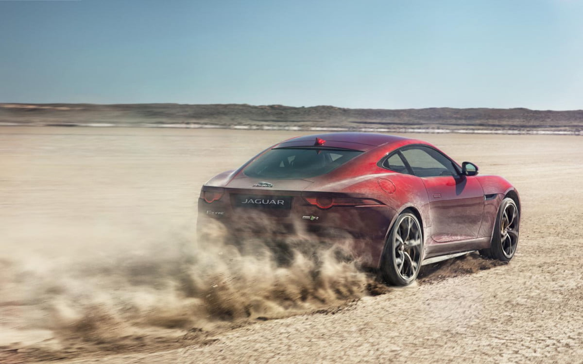 more powerful jaguar f types planned for the next  years type r coupe all wheel drive
