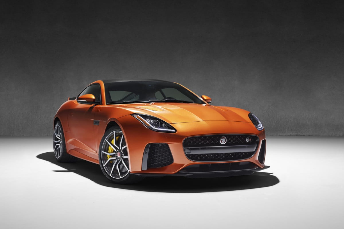 jaguar confirms f type svr sports car