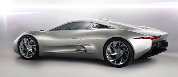 Jaguar C-X75 Side