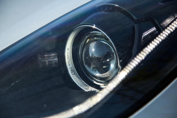 jaguar f type coupe review headlight
