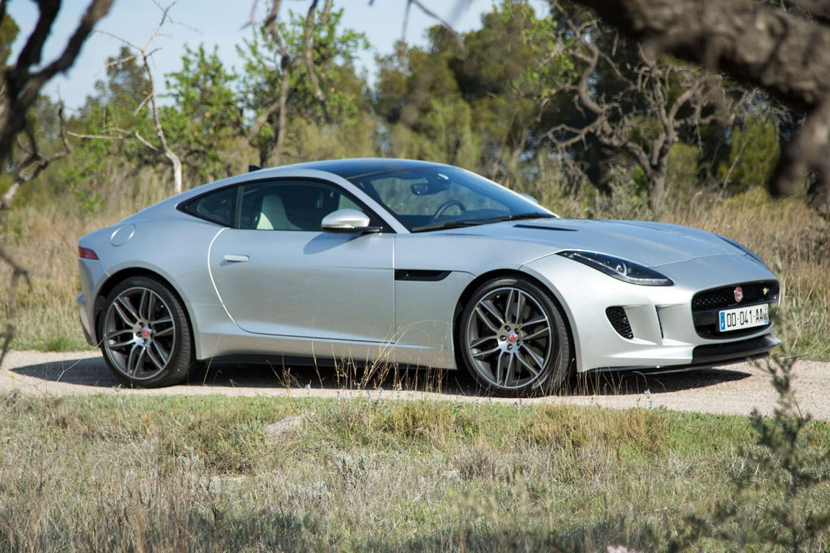 hp jaguar f type svr in the works rumor coupe right side angle
