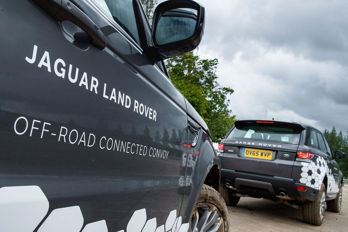 jaguar land rover technology showcase