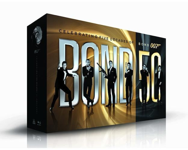 James Bond 50 Bluray