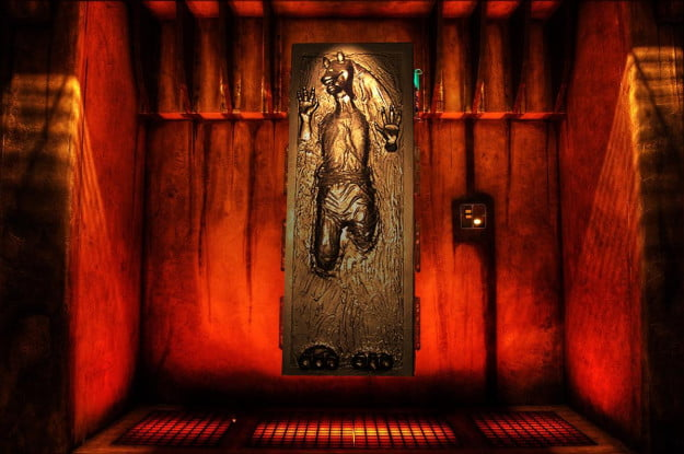 Jar Jar carbonite