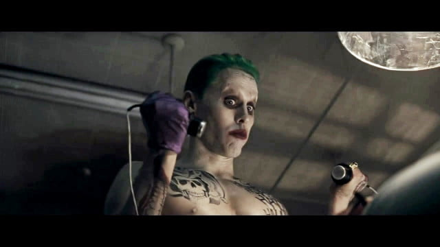 suicide squad jared leto joker as the in first trailer for