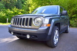 jeep patriot review exterior front left