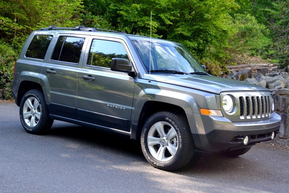 jeep patriot review exterior right side view