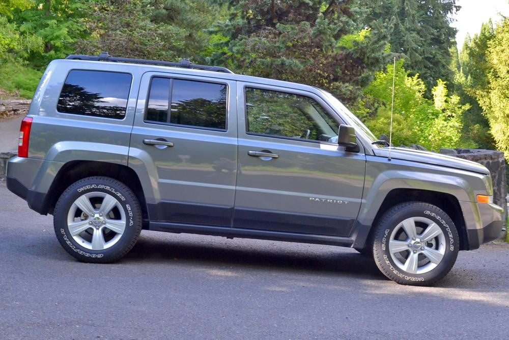 jeep patriot review exterior right side profile