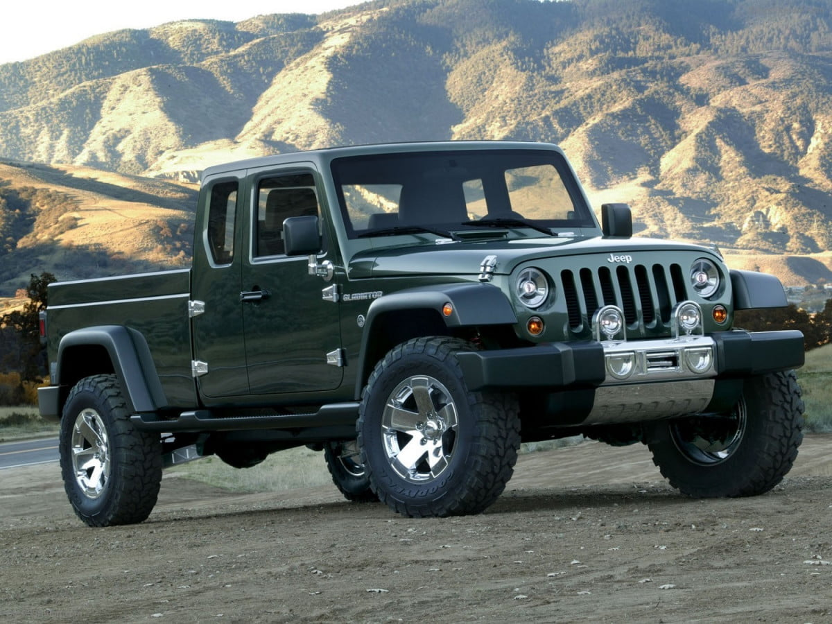 jeep pickup news pictures rumors gladiator