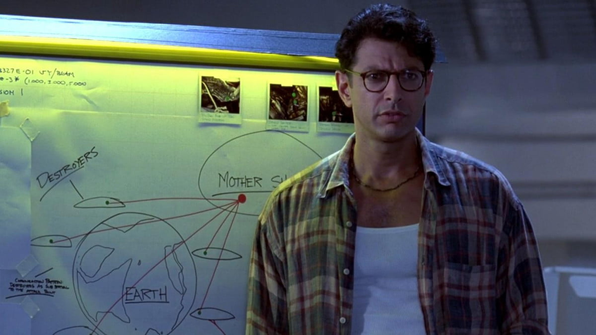 jeff goldblum says independence day sequel happening hell role