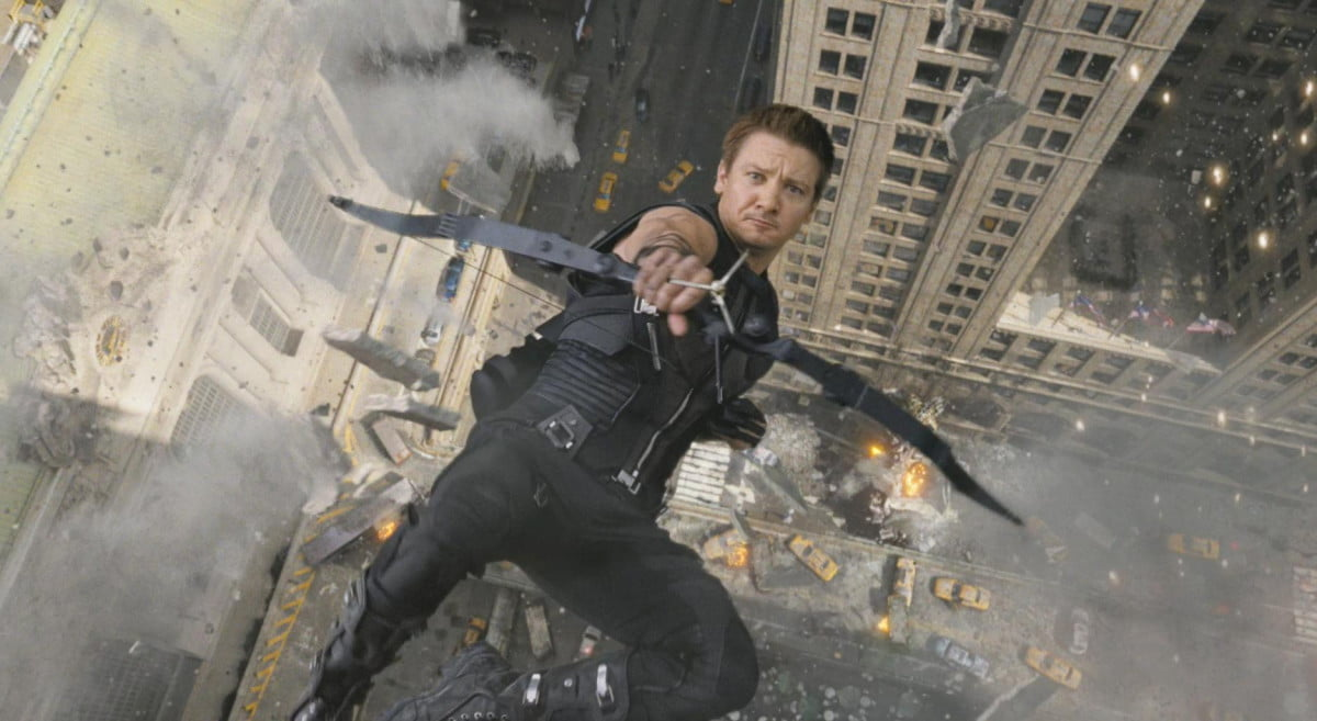 jeremy renner hints hawkeye role next captain america movie