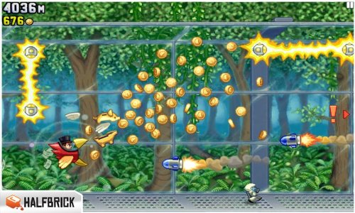 jetpack joyride screenshot kindle fire game
