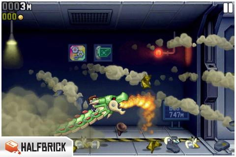 jetpack joyride screenshot ipod iphone ios app free game