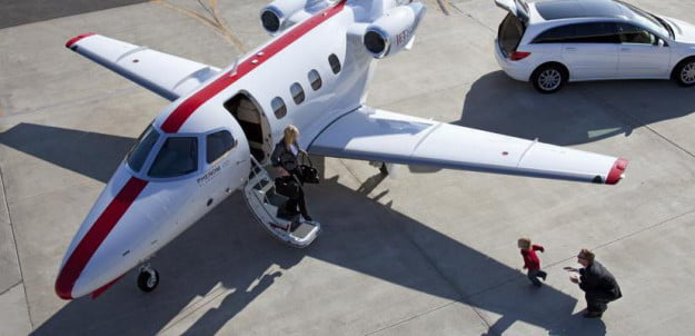 JetSuite parked airport