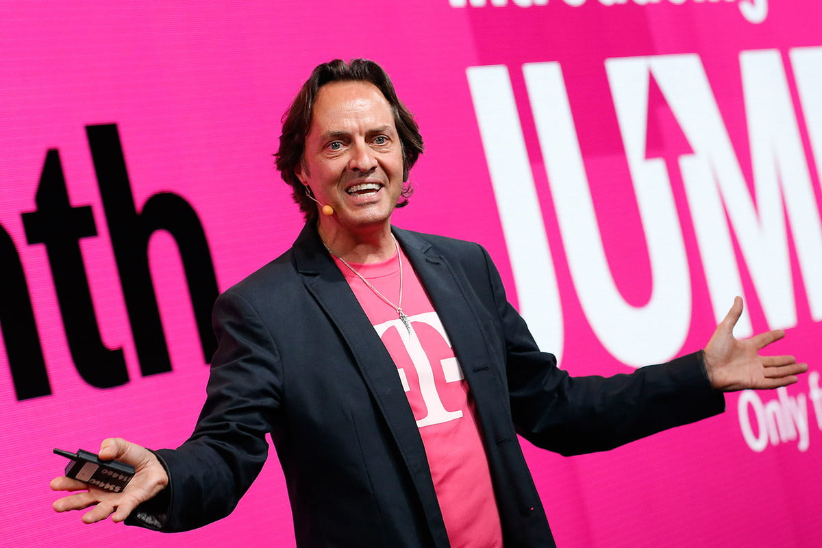 free trip to mars anyone t mobiles ceo is offering a ride the red planet john legere  blazer and your company s shirt