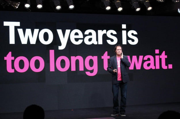 john Legere two years