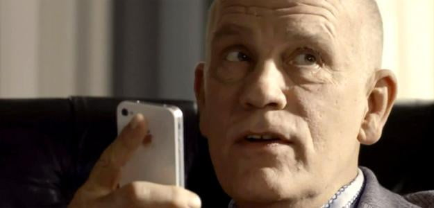 john malkovich siri ad iphone commercial