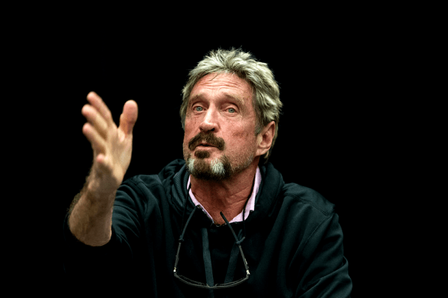 john mcafee says the ashley madison hack was an inside job c sv