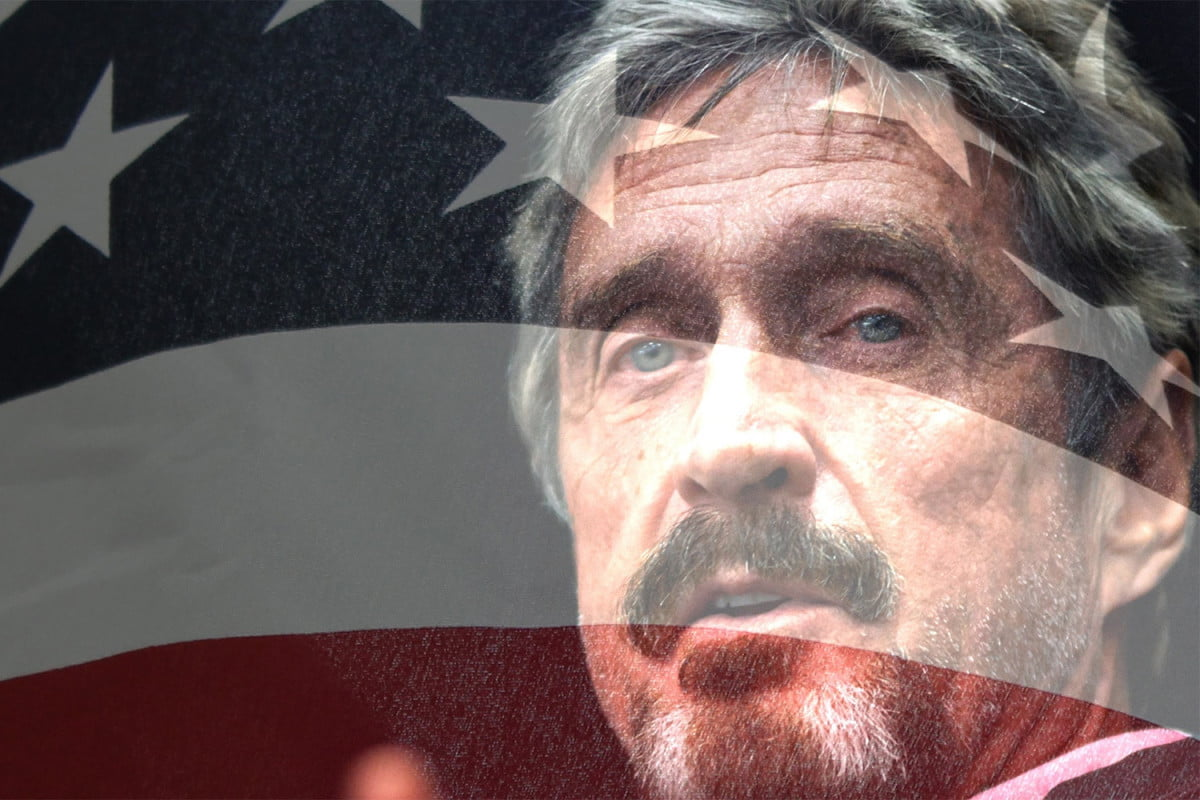john mcafee today future