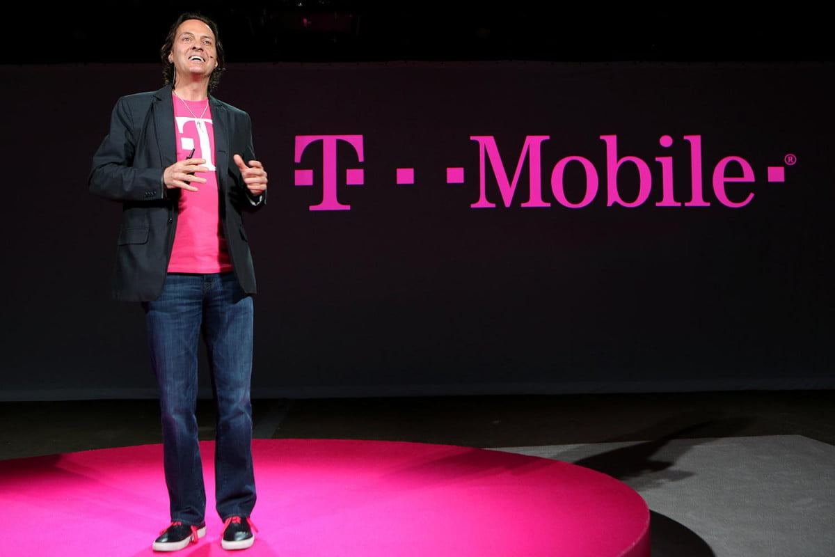 t mobile simple starter plan  gb a month john legere un carrier event